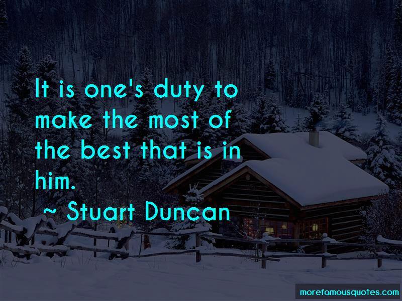 Stuart Duncan Quotes Pictures 4