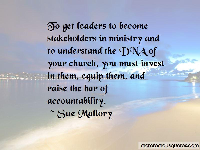 Sue Mallory Quotes