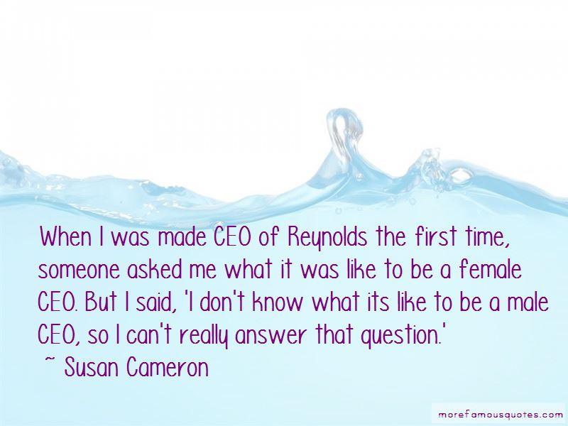 Susan Cameron Quotes