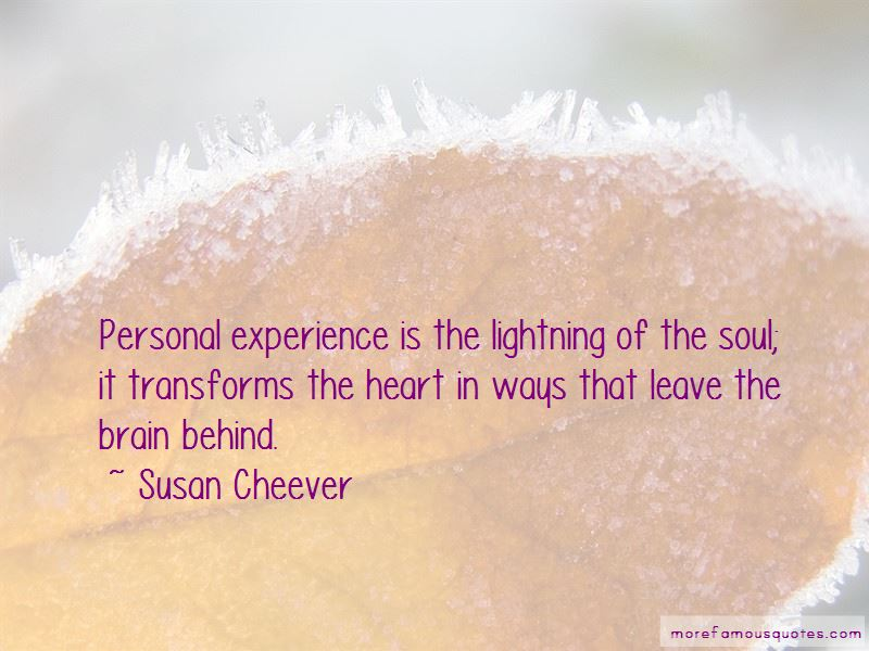 Susan Cheever Quotes