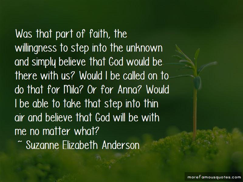 Suzanne Elizabeth Anderson Quotes Pictures 2