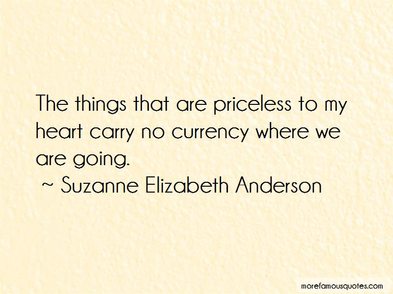 Suzanne Elizabeth Anderson Quotes Pictures 3