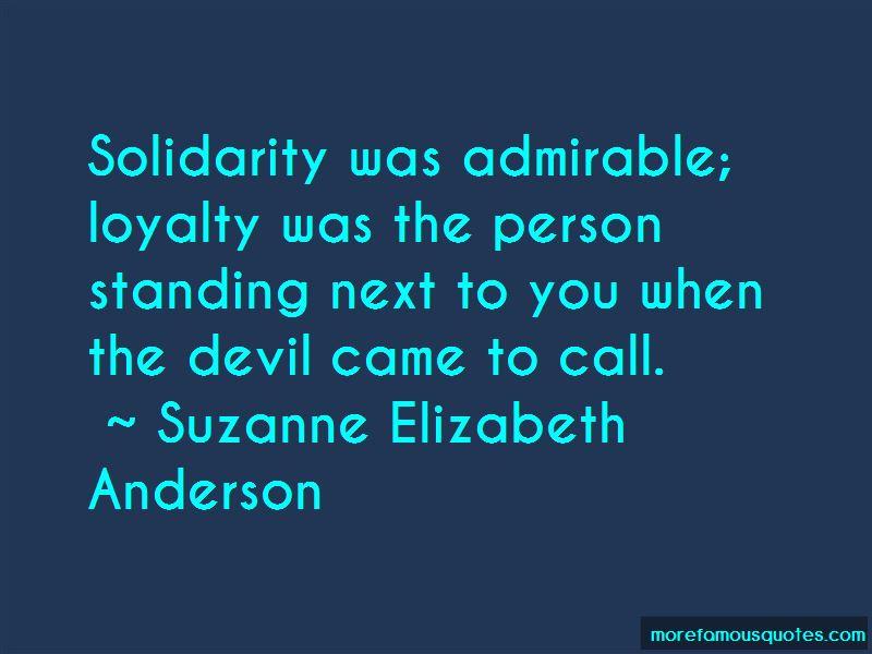 Suzanne Elizabeth Anderson Quotes Pictures 4