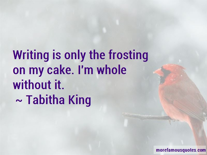 Tabitha King Quotes Pictures 2