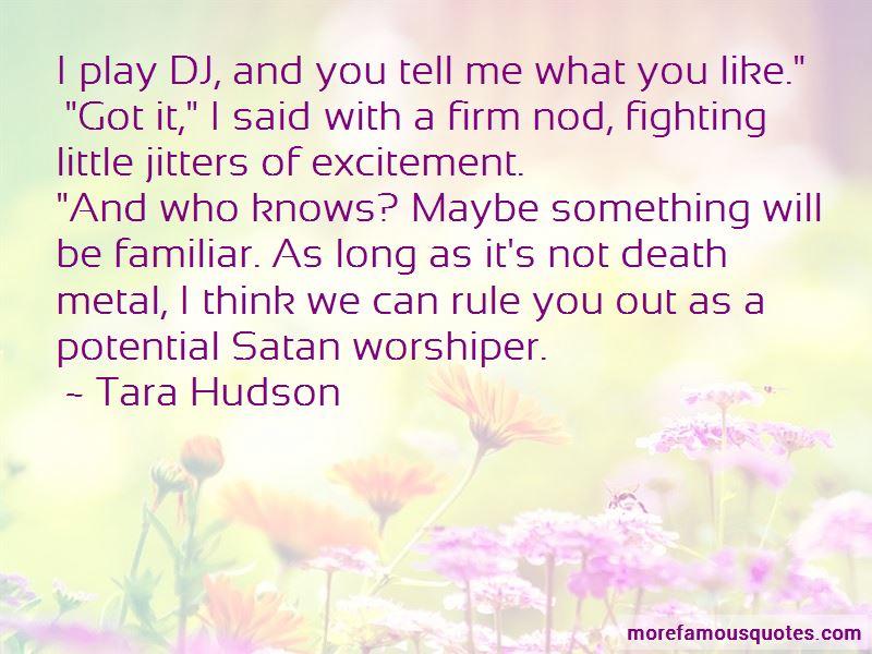 Tara Hudson Quotes Pictures 2
