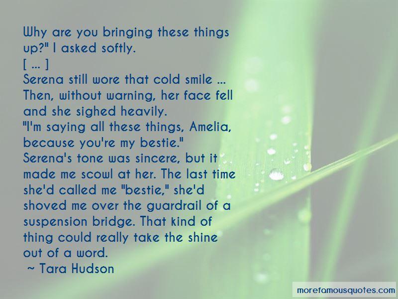 Tara Hudson Quotes Pictures 3