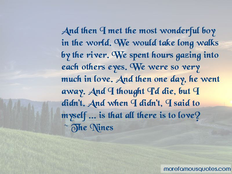 The Nines Quotes