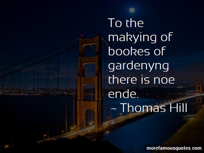 Thomas Hill Quotes