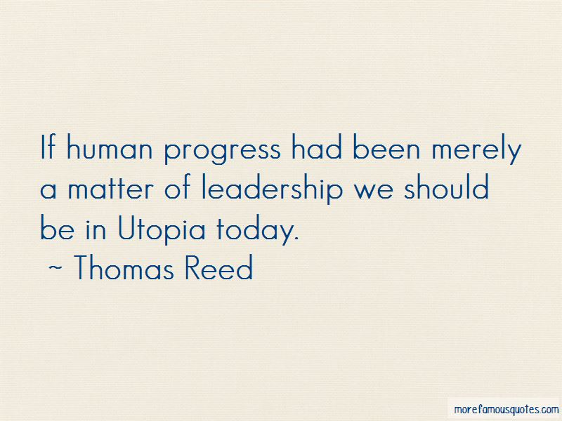 Thomas Reed Quotes Pictures 3