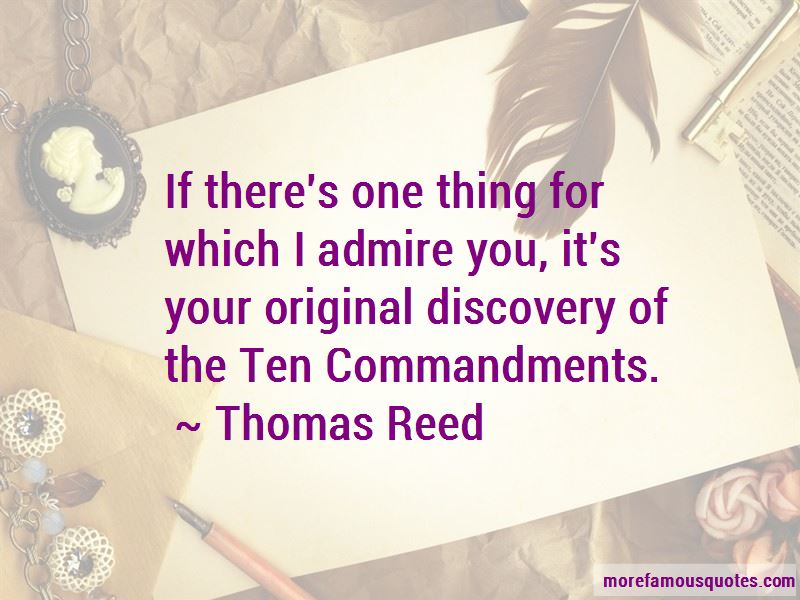 Thomas Reed Quotes Pictures 4