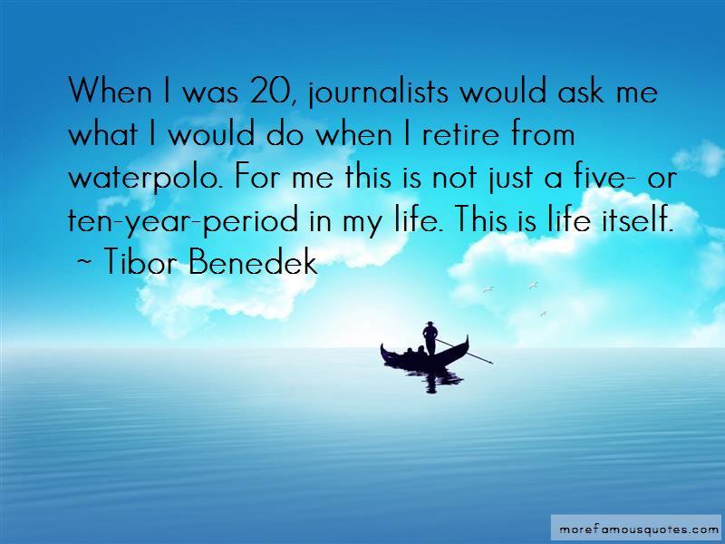 Tibor Benedek Quotes