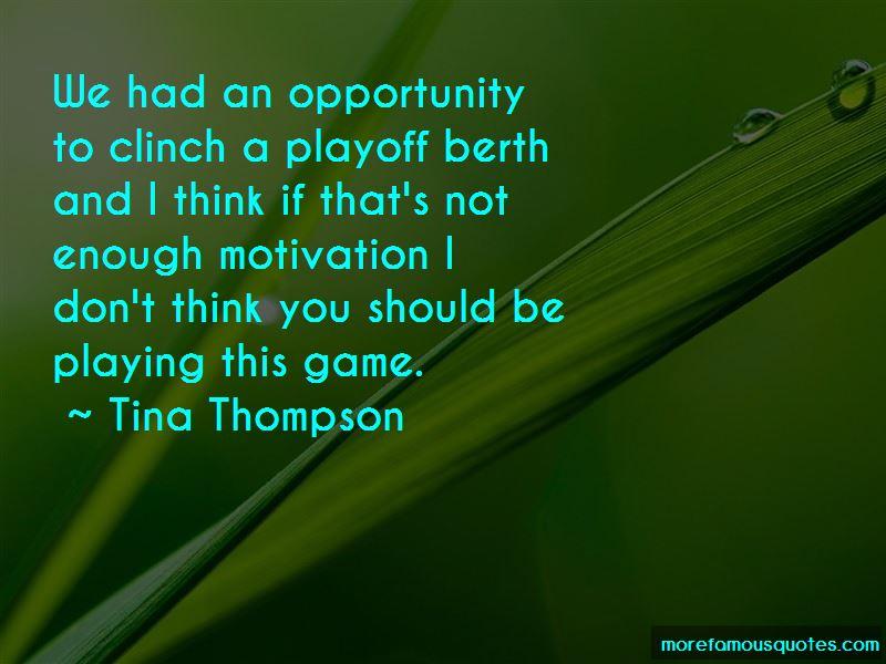 Tina Thompson Quotes Pictures 2
