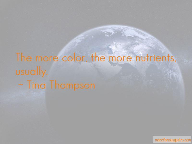 Tina Thompson Quotes