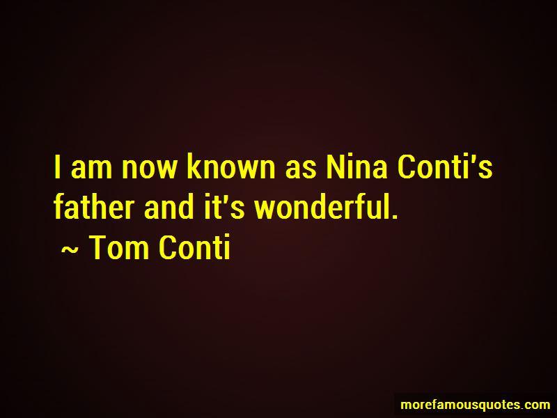 Tom Conti Quotes