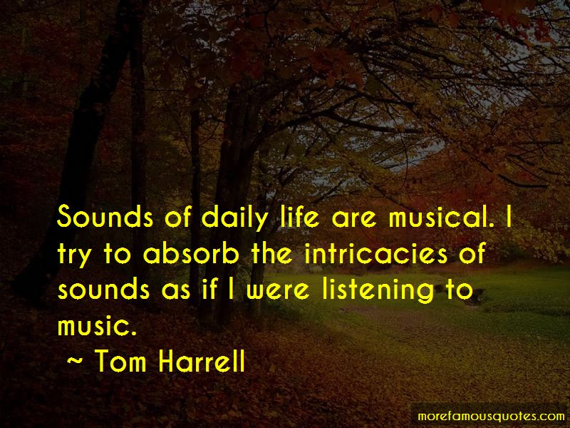 Tom Harrell Quotes Pictures 4