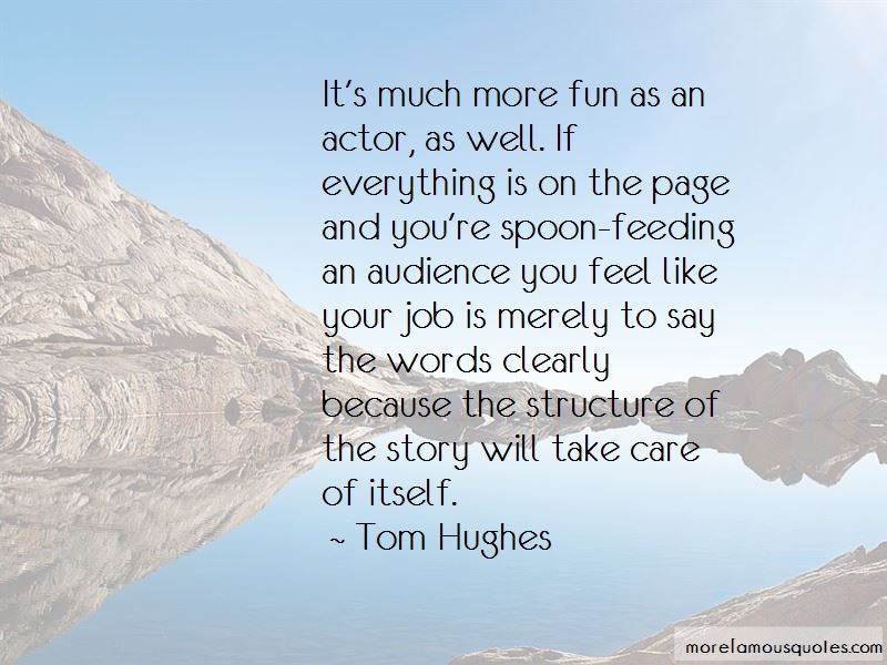 Tom Hughes Quotes Pictures 2