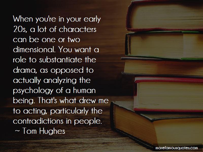 Tom Hughes Quotes