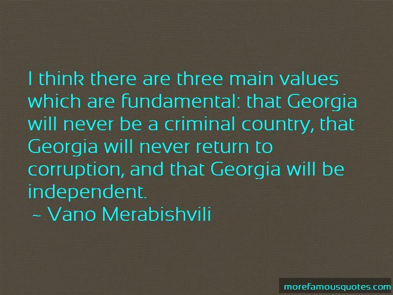 Vano Merabishvili Quotes