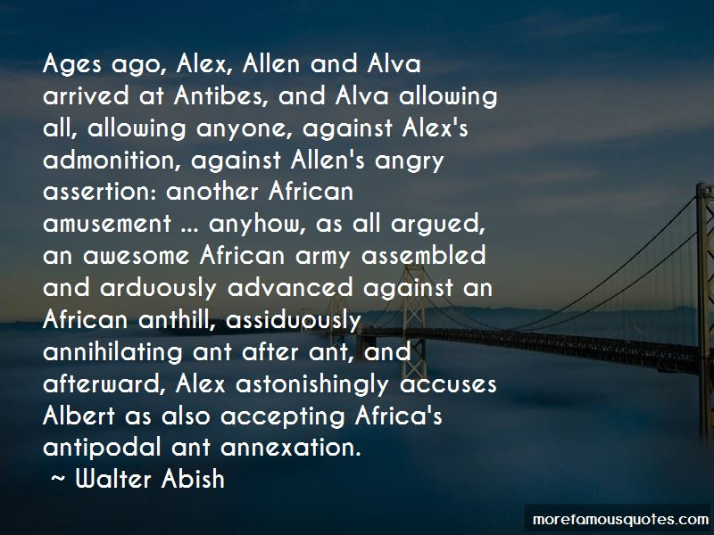 Walter Abish Quotes Pictures 2