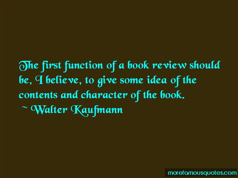 Walter Kaufmann Quotes Pictures 3