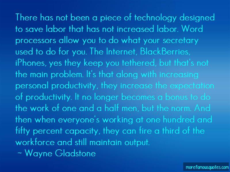 Wayne Gladstone Quotes Pictures 2