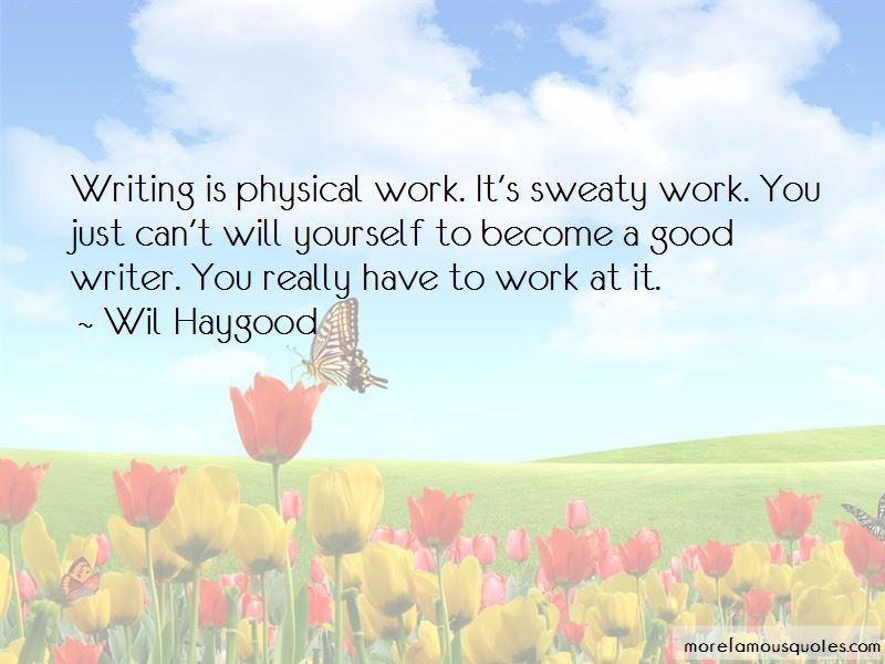 Wil Haygood Quotes