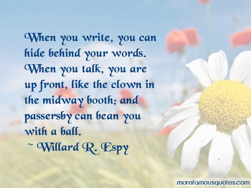Willard R. Espy Quotes Pictures 3