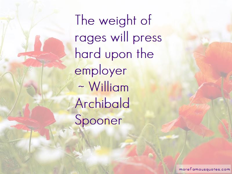 William Archibald Spooner Quotes Pictures 2
