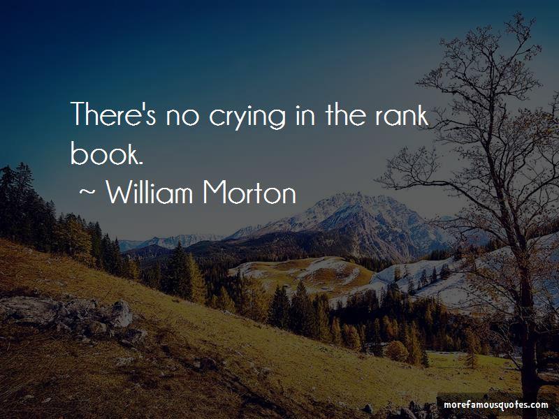 William Morton Quotes