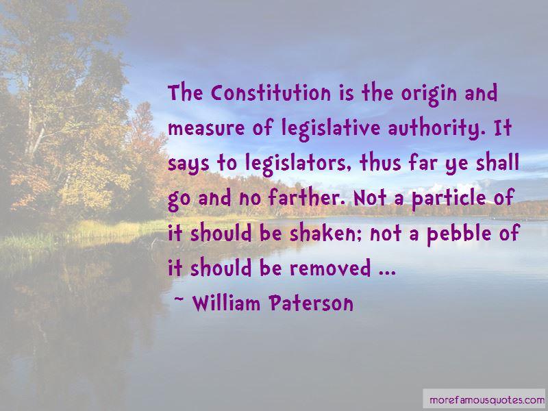 William Paterson Quotes Pictures 2
