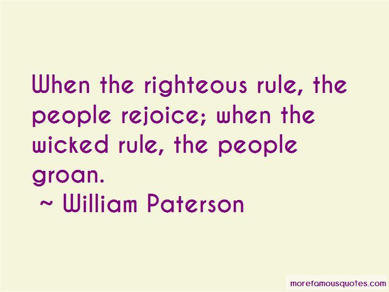 William Paterson Quotes