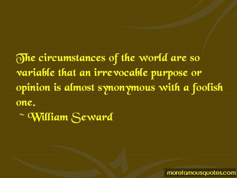William Seward Quotes