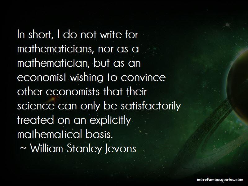 William Stanley Jevons Quotes Pictures 3