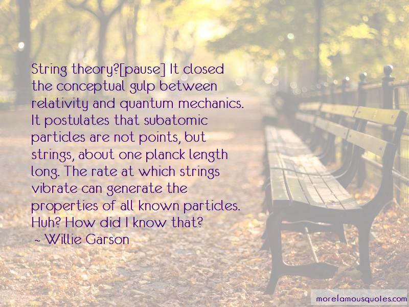 Willie Garson Quotes