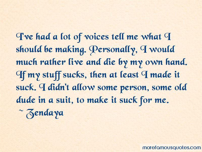 Zendaya Quotes Pictures 3