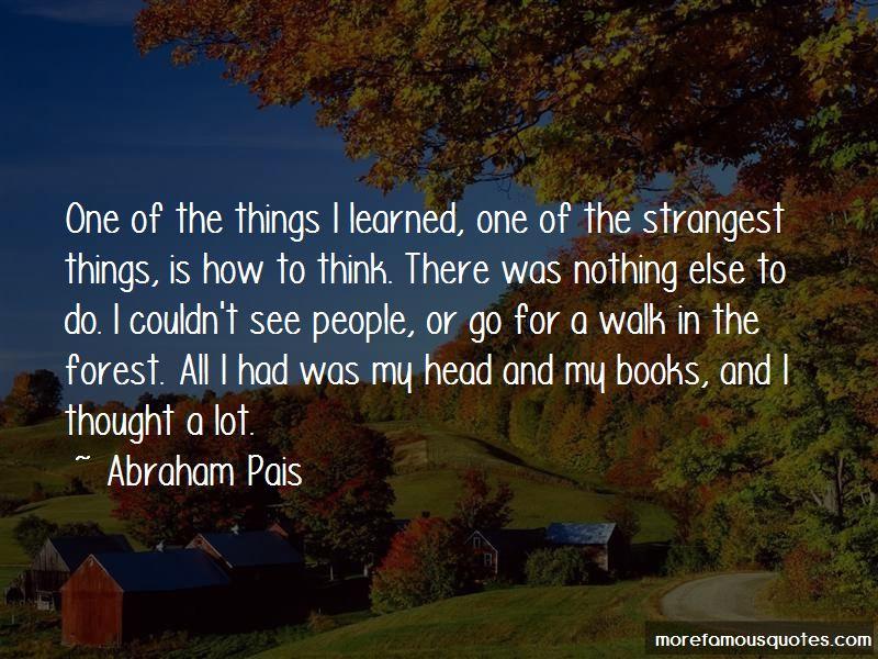 Abraham Pais Quotes Pictures 4