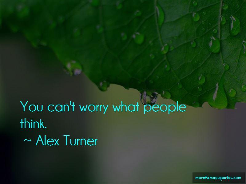 Alex Turner Quotes Pictures 3