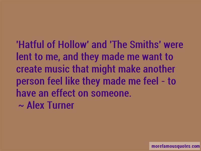 Alex Turner Quotes