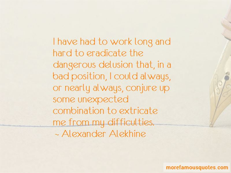 Alexander Alekhine Quotes Pictures 4