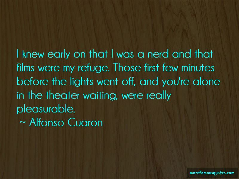 Alfonso Cuaron Quotes Pictures 4