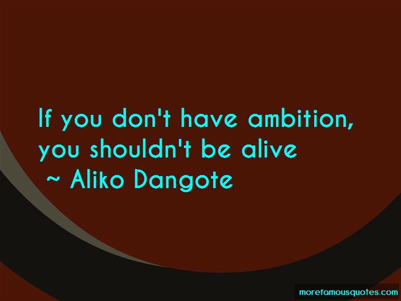 Aliko Dangote Quotes Pictures 4