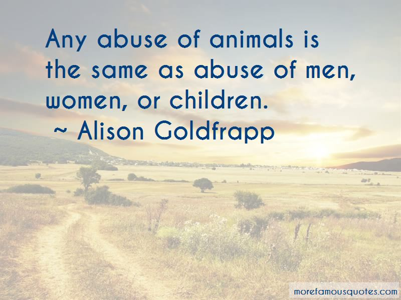 Alison Goldfrapp Quotes Pictures 3