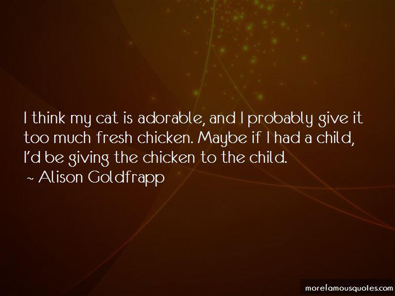 Alison Goldfrapp Quotes Pictures 4
