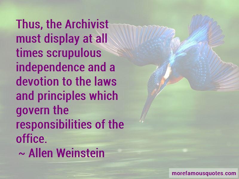 Allen Weinstein Quotes Pictures 3
