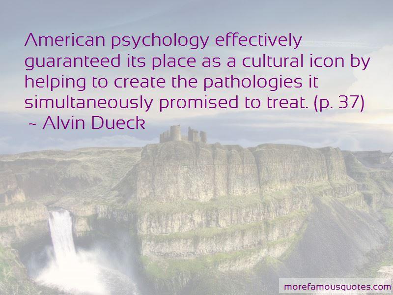 Alvin Dueck Quotes