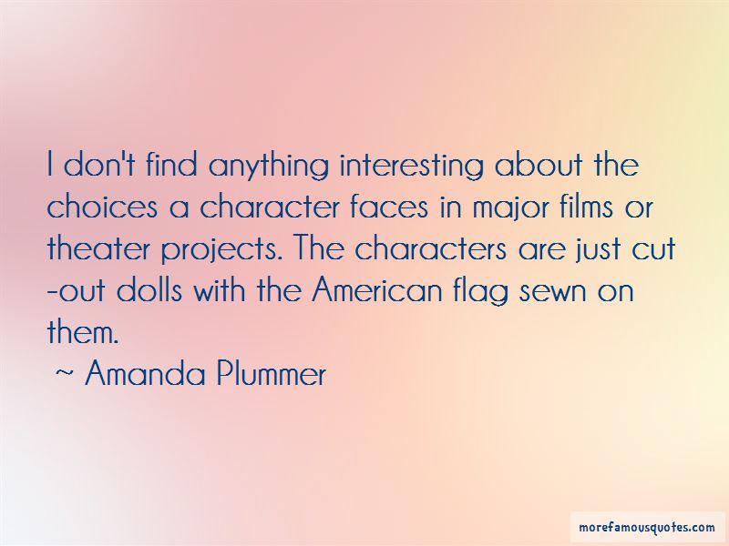 Amanda Plummer Quotes Pictures 2