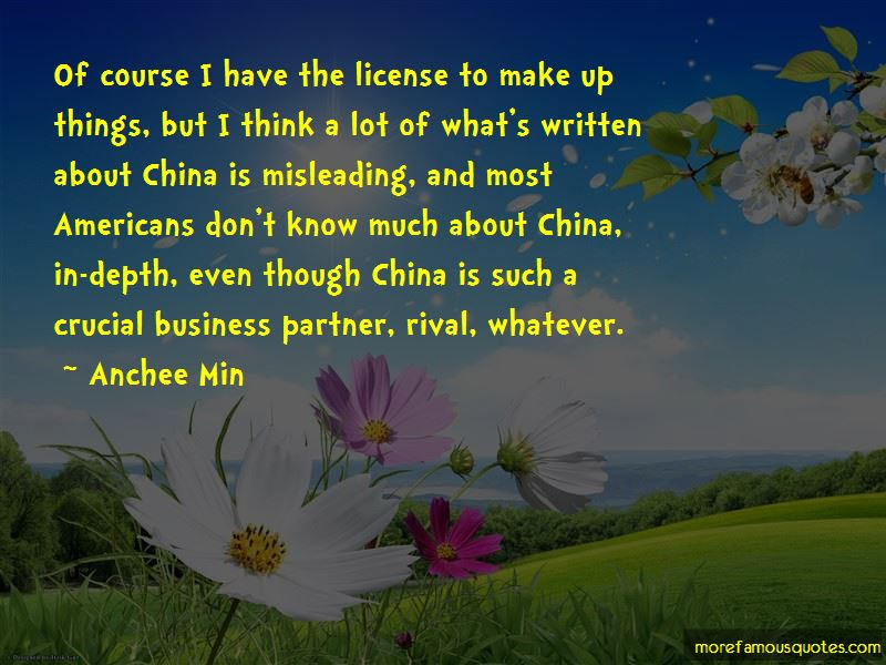Anchee Min Quotes