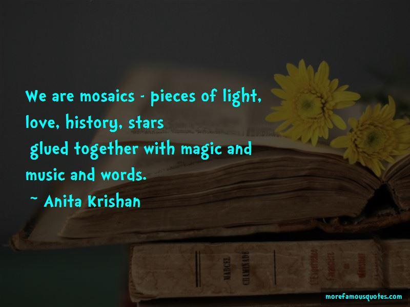 Anita Krishan Quotes