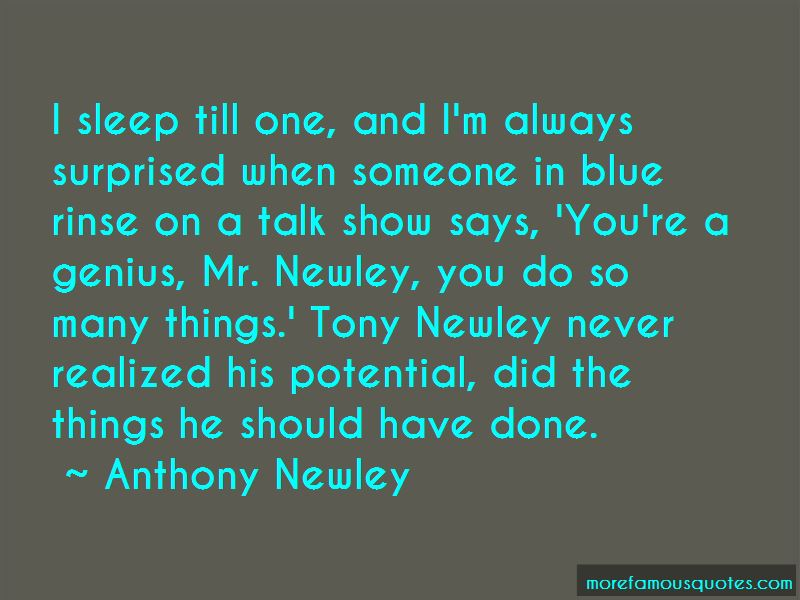 Anthony Newley Quotes Pictures 2