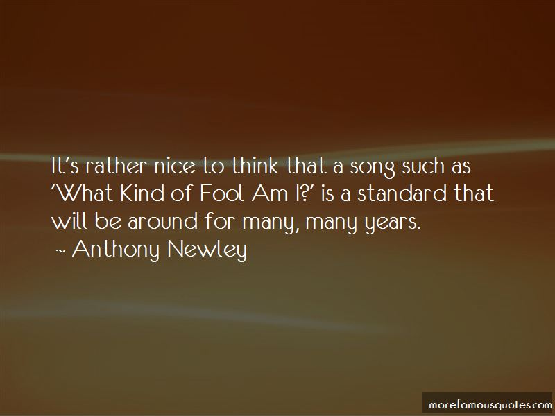 Anthony Newley Quotes Pictures 4